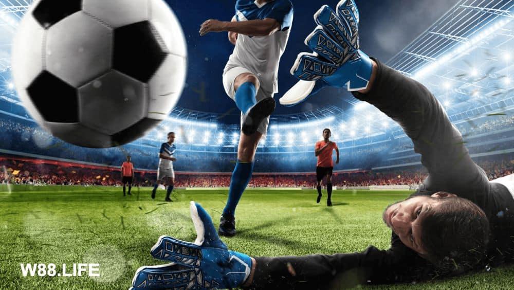 chơi game kiếm tiền với cá cược bóng đá