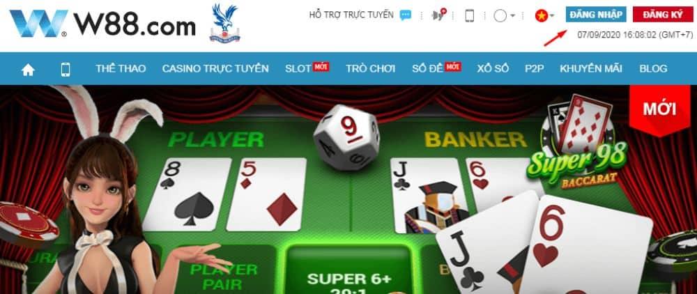 cách chơi game kiếm tiền tại nhà cái w88
