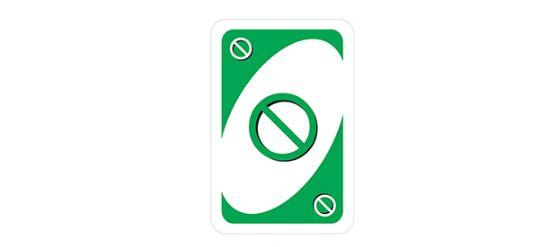 lá bài skip card trong game uno