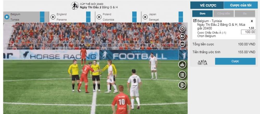 hướng dẫn chơi cá độ bóng đá ảo w88