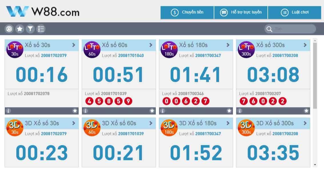 cách chơi loto188 online tại w88