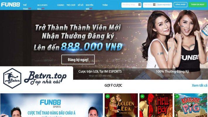 TOP 10 trang nhà cái cá cược uy tín số 1 Việt Nam và Châu Á fun88