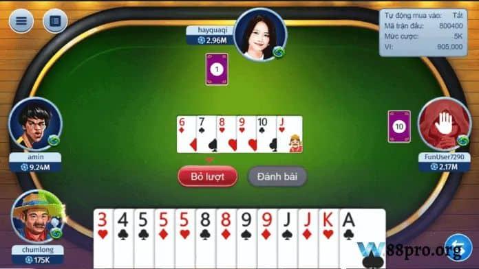 w88 casino đánh bài online ăn tiền thật tiến lên