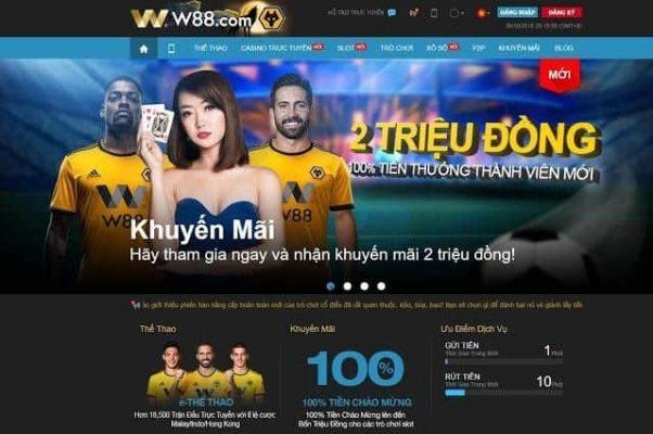 Cách chơi cá độ bóng đá online uy tín tại nhà cái W88