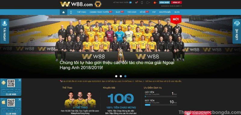 TOP 10 trang nhà cái cá cược uy tín số 1 Việt Nam và Châu Á w88