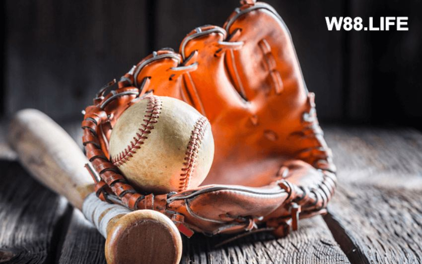 dụng cụ thi đấu bóng chày