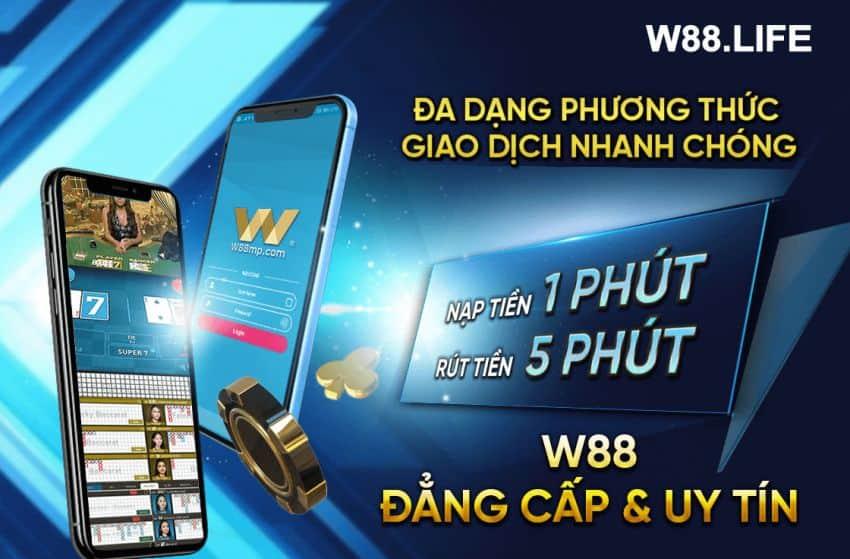 cách chơi bắn cá online đổi thưởng tại w88