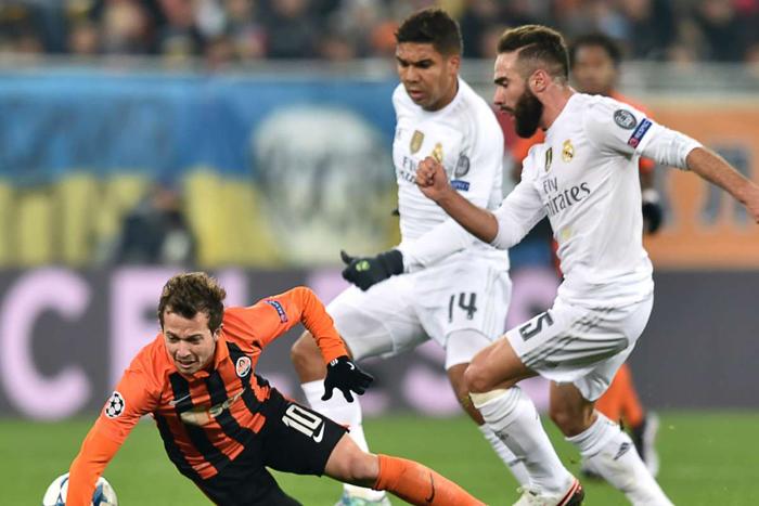 Soi kèo Real Madrid vs Shakhtar Donetsk
