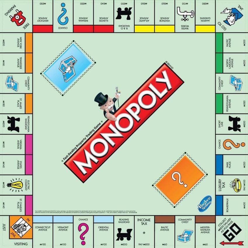 bàn cờ tỷ phú monopoly