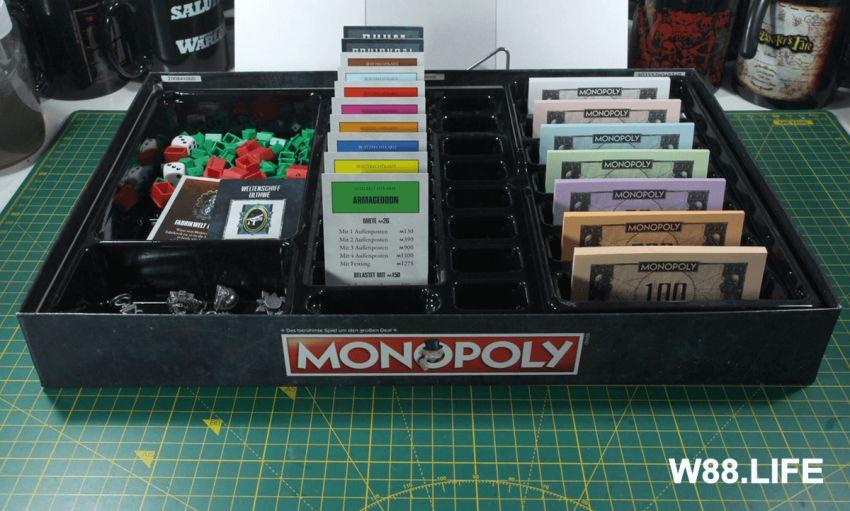 cách thiết lập bàn cờ tỷ phú