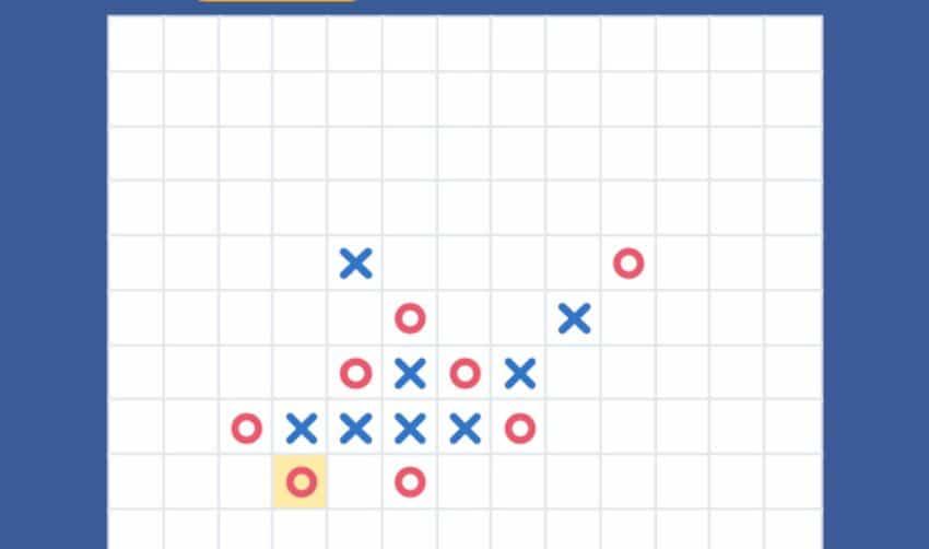 quy trình một ván cờ caro online
