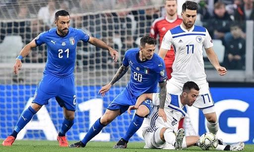 Soi kèo Bosnia vs Ý