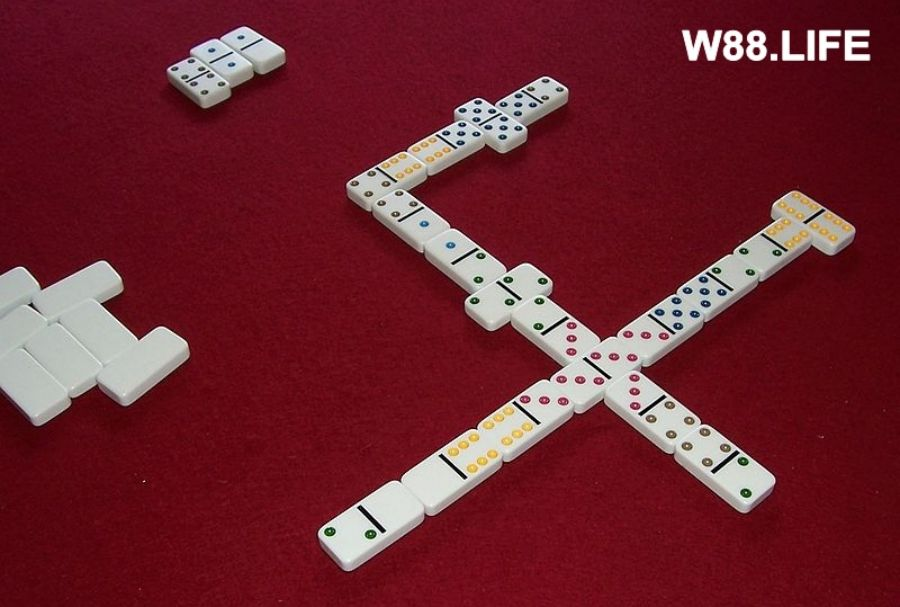 cách chơi all five domino
