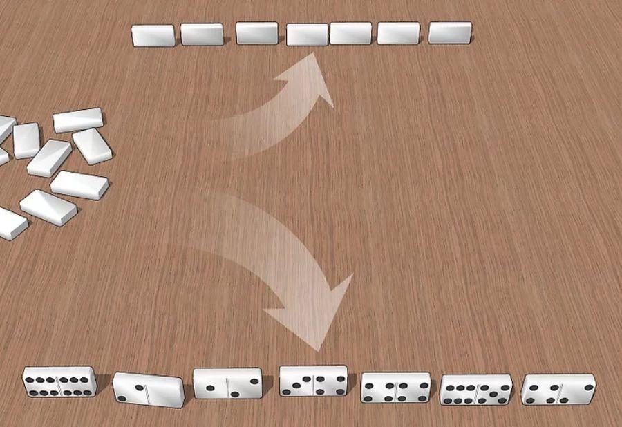 cách chơi game domino