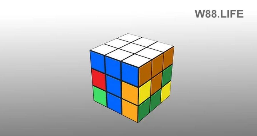 cách xoay rubik 3x3 tầng 1