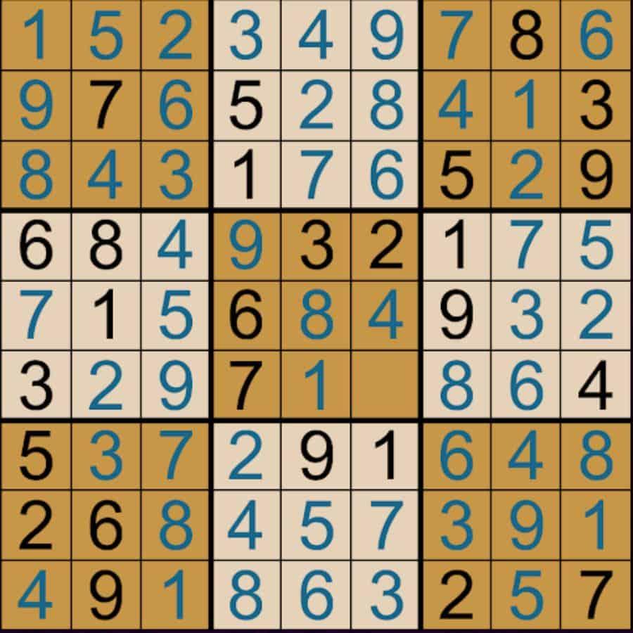 cách giải sudoku