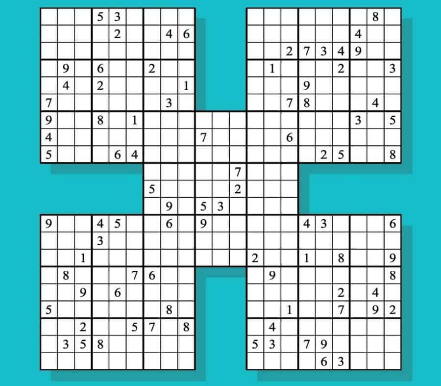 các biến thể sudoku