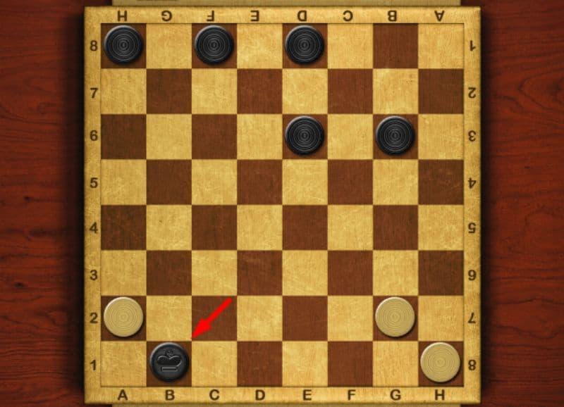 luật chơi cờ đam