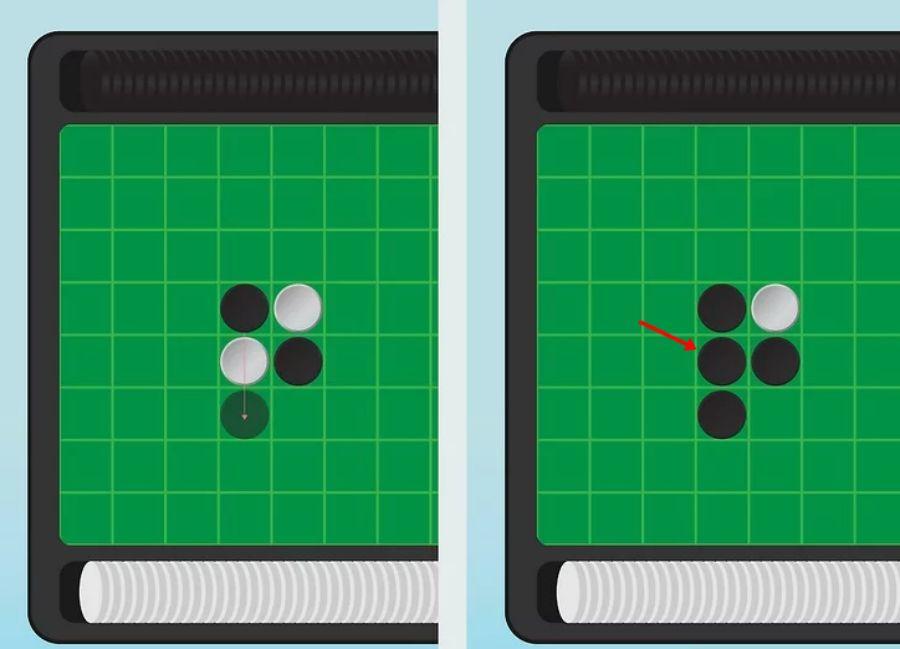 luật chơi cờ lật othello