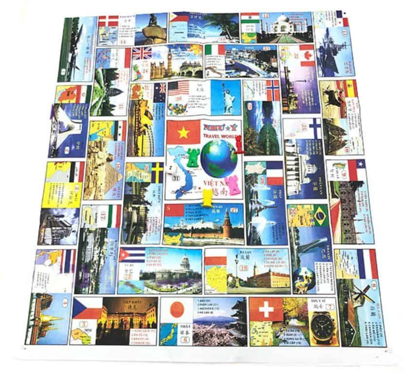 cờ vòng quanh thế giới là gì